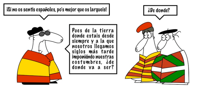 Resultat d'imatges de nacionalistas españoles