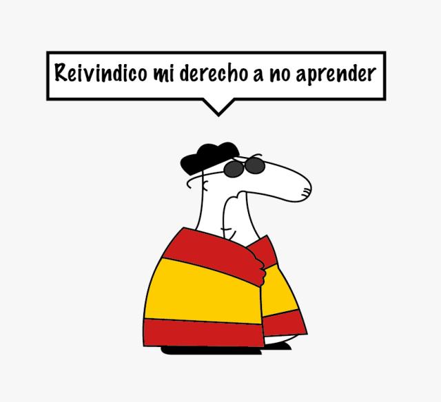 27S y el Nacionalismo español Monolinguismo