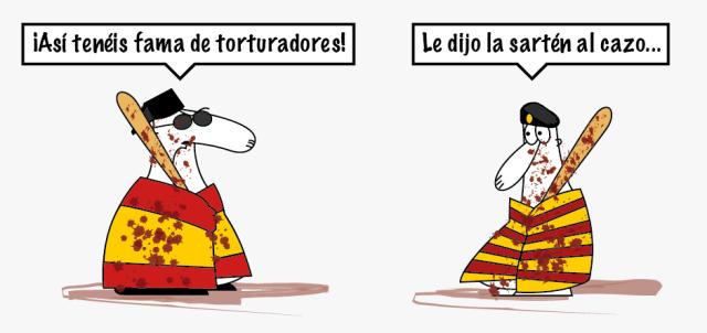 27S y el Nacionalismo español Torturadores