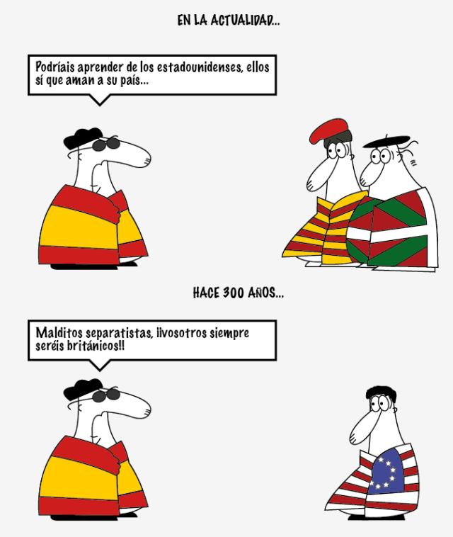 Nacionalismo español (humor gráfico) | El disidente