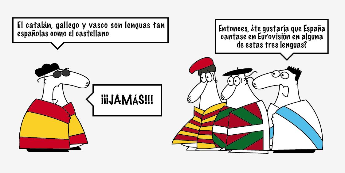 27S y el Nacionalismo español Eurovision