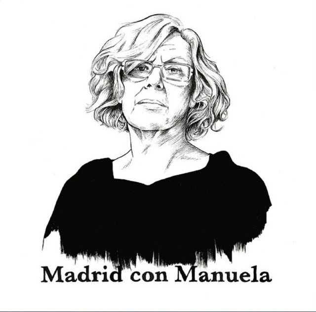 Ilustración de Rosa Navarro, una de las más de 1000 artistas que participaron libremente en la campaña por Ahora Madrid